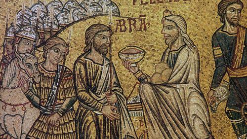 Header 2 Abraham Meets Melchizedek Basilica di San Marco 1